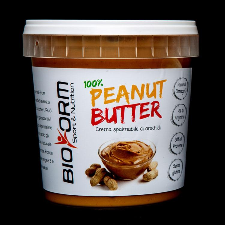 Burro di arachidi gusto smooth bioform